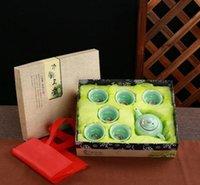 Wholesale Celadon Chinese Tea Set - Chinese style,Ceramic, tea set,celadon,,whole set, cup,company,ceramics,Teapot Suite,Send a friend