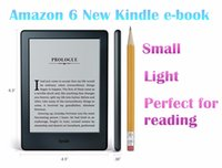 Großhandel-2016 Version New Kindle ereader Wi-Fi 4GB eBook E-Tinte Bildschirm 6-Zoll-Touchscreen-Display Exklusiv Kindle Software e-Book Reader