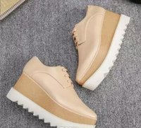 77514e8fb2f8 Wholesale rubber sole wedges online - new Stella Mccartney Stell women Shoes  Platform Italy Elyse Gold