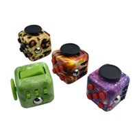 Wholesale Cheap Plastic Cubes - cheap price 30pcs Nice Fidget cube Gifts Relieves Anxiety and Stress Juguet Fidget Cube For Adults Children Fidgetcube Desk Spin Toys