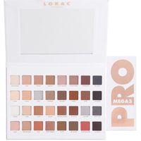 Wholesale lorac pro 32 colors eye shadow for sale - Group buy LORAC Eyeshadow Palette Mega PRO Color Eye Shadow Palette kit Professional Eyes Makeup Brand New in box DHL free LORAC Makeup