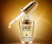 Wholesale Whitening Hyaluronic Essence - 30ml BIOAQUA 24K Gold Face Cream Essence Day Cream Anti Wrinkle Face Anti Aging Collagen Whitening Hyaluronic Acid Liquid Skin Care