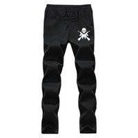 Wholesale Iron Fleece - Wholesale- Autumn Winter thick fleece jogger men Iron Maiden pattern pants brand clothing high quality warm male sweatpants casual trousers