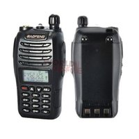 Wholesale Uhf Vhf Interphone Transceiver - Baofeng UV-B6 Walkie Talkie Interphone Dual Band Radio VHF UHF 136-174 400-470MHz Transceiver two Way Radio 2PCS LOT