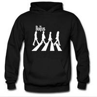 Wholesale Beatles Hoodie - Wholesale-Spring Autumn sweatshirt Hoodies The Beatles Rock Sweatshirts men Hoody Punk Rock Cosplay Costume Coat