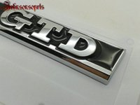 Wholesale Oem Vinyl - stickers 1 pair=2 pcs OEM ABS GTD Wing side badge fender emblem Right & Left car stickers for