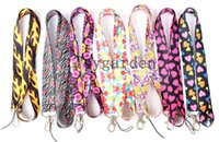 Wholesale Mobile Phone Keyrings - Lot classic Mobile phone camera Lanyards ID Card Badge Holder Keychain Neck Keyring free shipping L41