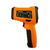 Wholesale Laser Display Color - PM6530B Non-Contact 12-Point Laser Infrared Thermometer IR Temperature Gun with Color LCD Digital Display -58~1022 Fahrenheit