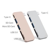 Wholesale 20 in Combo Type C Hub USB Slot in TF SD Card Reader with Charging Port for Macbook