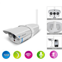 Wholesale Wifi Ip Camera Hd Sd - Vstarcam Full HD 720P WIFI IP Camera Outdoor IP67Video CCTV Cam Onvif Wireless Support 64G SD Card,P2P Nightvision,C7816WIP ANN