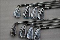 Wholesale Golf Shafts Free Shipping - Free Shipping AP2 716 Golf Irons Steel Shaft R S Flex