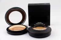 Wholesale Wholesale Orange Oil - HOT New Makeup Face Powder Mineralize Skinfinish Poudre de fintion 10g DHL Free shipping+GIFT