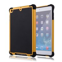 Hybrid Rugged Impact Football Skin 3 en 1 Housse Housse antidérapante Heavy Duty Armor Hard Case pour Apple iPad 1 2 3