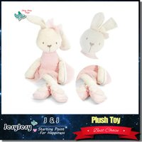 Wholesale Doll Toys For Girls - Soft Stuffed Animal Bunny Rabbit Plush Doll Toy Birthday Girl Kid Gift Kawaii Kids Stuffed Toys For Children Dolls
