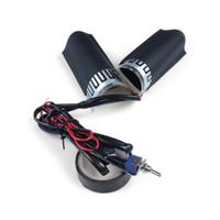 rouge Antivol de moto pour poign/ée//acc/él/érateur//levier de frein universel en aluminium pour guidon de moto//scooter//cyclomoteur//VTT//v/élo