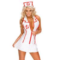 Wholesale sexy custom cosplay for sale - Sexy Nurse Custom deguisement Adult Maid Lingerie Sexy Role Play Erotic Lingerie Sexy Underwear Games Cosplay ouc1003