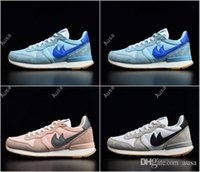 Wholesale Cheap Mens Rubber Fashion Boots - 2017 Retro Internationalist 3 Fashion Brand N Athletic Mens Women Sports Running Shoes Cheap Retro Walking Shoes Size Eur 36-44