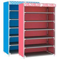 Wholesale Pink Shoe Organizer - New Design Simple Shoe Rack Storage Dustproof Shoe Cabinet Multifunctional Organizer Stand Shelf Holder Pink Blue JC0472