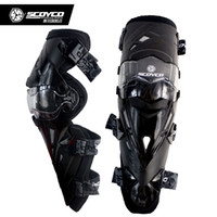 Wholesale Scoyco Elbow - 5 Colors Scoyco Brand New K12 Motorcycle Knee Protector Motocross Racing Knees Guard Pads