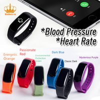 Wholesale Blood Pressure Measurement - Smart Wrist Band M8 Heart rate Blood Pressure Blood Oxygen Oximeter measurement Pedometer Calorie Sport Bracelet For iOS Android