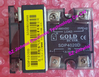 Wholesale Dc Ssr - New and original SDP4020D GOLD DC-DC Solid state relay SSR 3.5-32VDC, 12-480VDC 20A