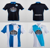 Wholesale Best Stock Shorts - In stock Best Quality 2017 2018 Deportivo La Coruna Rugby Jerseys Free Shipping Size S-L Welcome Order 2017 2018 Deportivo La Coruna Free s