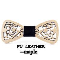 Wholesale Tie Cravat Slim - New Arrival Hollow Wood Bow Ties for Mens Wedding Suits Wooden Bow Tie Butterfly Shape Bowknots Gravatas Slim Cravat