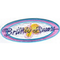 """Wholesale Britney Spear - 4.5"""" BRITNEY SPEARS MULTI COLOR STAR Music Band Iron On Sew On Patch Tshirt TRANSFER MOTIF APPLIQUE Punk Badge Wholesale"""
