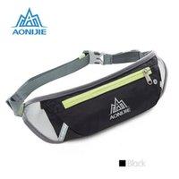 Wholesale Dual Gym - Hot sell Portable sports running waistpacks belt dual pocket bag mobile phone waterproof bag traffic lumbar bag running jogging