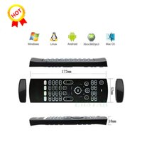Wholesale wholesale for m8 android tv box online - MX3 Backlit Wireless Mini Keyboard Fly Mouse G Sensing Gyroscope Sensors Remote Combo For MXQ M8 M8S M95 S905 STB Android TV BOX