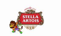 заказное пиво оптовых-Раз пиво Стелла Артуа логотип флаг, можем обычай печатать файл,футов 90x150cm размер,100% полиэстер,100% полиэстер 90*150 см,цифровая печать
