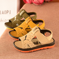 Wholesale China Fashion Product - Hot sale 2017 new fashion summer boys sandals shoes baby kids skidproof rubber sole china wholesale children products 5.5-9.5