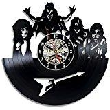 Wholesale Room Wall Decor Ideas - Vinyl Record Wall Clock - Get unique living room or nursery wall decor - Gift ideas for boys and girls
