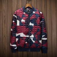Wholesale Fertilizers Brands - Tide Brand autumn and winte justin bieber kanye west Baseball Jacket coat plus fertilizer male cotton skate board padded clothes Free freigh