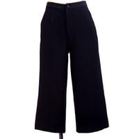Wholesale Wholesale Wide Leg Pants - 2016 new woolen pants for women lady's fashion loose solid wide leg pants trousers Tops Qulity Clothing