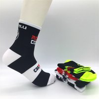 Wholesale France Soccer Team - High Quality Unisex Tour de France Team Cycling Socks Riding Bike Socks Sports Runing Socks