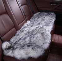 Wholesale Sheepskin Car Cushion - Car interior accessories Car seat covers sheepskin cushion styling fur 6 color FOR BACK COVERS 2015