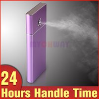 Wholesale Ion Facial Steamer - Purple Color Rechargeable Nano-ion Spray Moisturizing Hydrating Facial Steamer Refine Fine Lines Anti-aging Beauty Apparatus as Power Bank