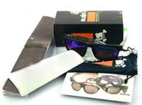pochette d'emballage de vente au détail achat en gros de-Forfaits de vente au détail de lunettes de soleil avec boîte + sac / pochette + chiffon