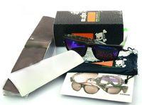 bez güneş gözlüğü kılıfı toptan satış-Kutu + çanta / kese + bez ile güneş gözlüğü Perakende Paketleri Marka güneş gözlüğü için kaliteli Fabrika Fiyat perakende paketleri