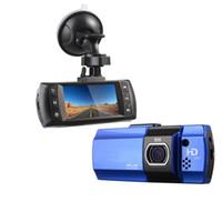 ingrosso macchina fotografica del cruscotto di novatek hd-Novatek 96650 Telecamera DVR per auto AT500 DVRS Full HD 1080P Registratore video Registratore HDR G-sensor Night Vision Dash Cam