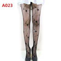 Wholesale Nylons Pantyhose - Wholesale- Fashion Sexy Black Fishnet Pattern Jacquard Stockings Pantyhose Tights HK for Xmas