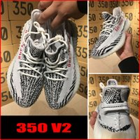 Wholesale NEW SPLY Boost V2 Kanye West Boost V2 SPLY Running Shoes with classic color Zebra Red SPLY V8
