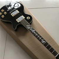 Wholesale black electric guitar for sale resale online - New Chinese good guitar custom shop guitar custom Electric Guitars Factory direct sale bright black can be a of custom Like photos