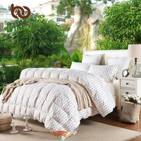 Wholesale Hotel Quality Duvets - Wholesale- BeddingOutlet Goose Down Quilt Cotton Comforter Bedding Single Size Lovely Sheep Printed Duvet for Kids Twin Queen King
