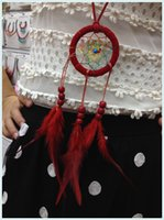 Ожерелье с длинным дизайном из кисточки для ожерелья Indian Dream Catcher