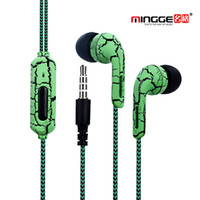 Wholesale Unique Ear Wires - 100pcs lot wholesale Original crack In-ear Unique Engine Shape Supper Bass auriculares Headset With Mic with retail package