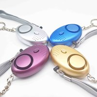 Wholesale Guard Personal Security Alarm - 130DB Personal Alarm With Keychain Torch Light with mix color packing,Travel Guard Personal Alarm Self Defense Security Alarm 007