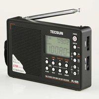 Wholesale Radio Dsp - Wholesale-Original TECSUN PL-505 Digital PLL Portable Radio FM Stereo LW SW MW DSP Receiver With Built-in Speaker Black