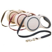 Wholesale High Grade Dog Collars - ABS Nylon Flexible High-Grade Stable Durable 3 Meter 5 Meter 25KG Dog Automatic Retractable Dog Traction Rope Leashes Pet Leads
